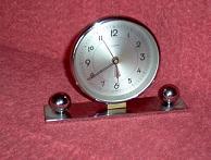 réveil support métal ckromé